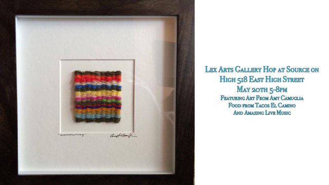 Gallery Hop: Fiber Artist Amy Camuglia
