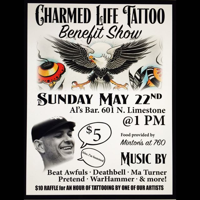 Charmed Life Tattoo Benefit