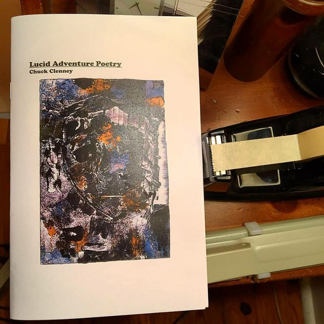 Lucid Adventure Poetry by  Chuck Clenney