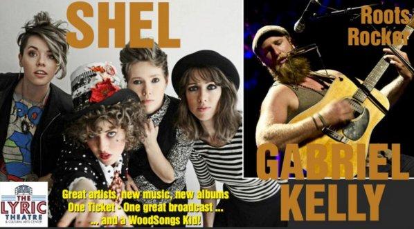 WoodSongs: Shel/ Gabriel Kelly