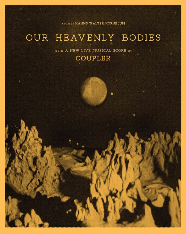 """WRFL and Lexington Film League present a screening of """"Our Heavenly Bodies"""" with Live Performance by Coupler"""