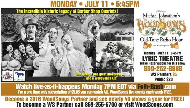WoodSongs: Celebration of Barbershop Music