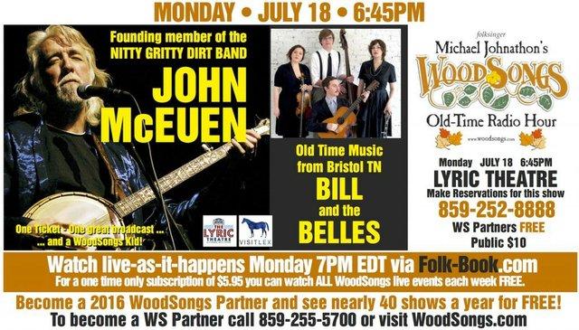WoodSongs: John McEuen/ Bill and the Belles
