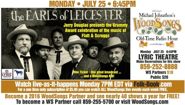 WoodSongs: The Earls of Leichester