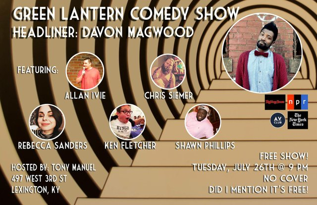 Comedy Show: Dave Magwood and more