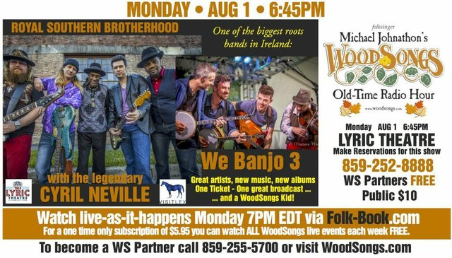 WoodSongs: The Royal Southern Brotherhood/ We Banjo 3