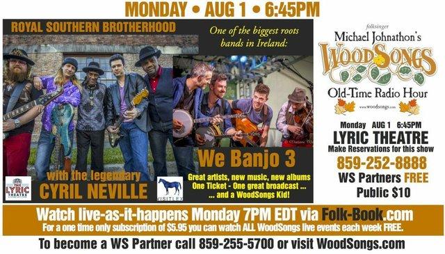 WoodSongs: The Royal Southern Brotherhood/ We Banjo 3