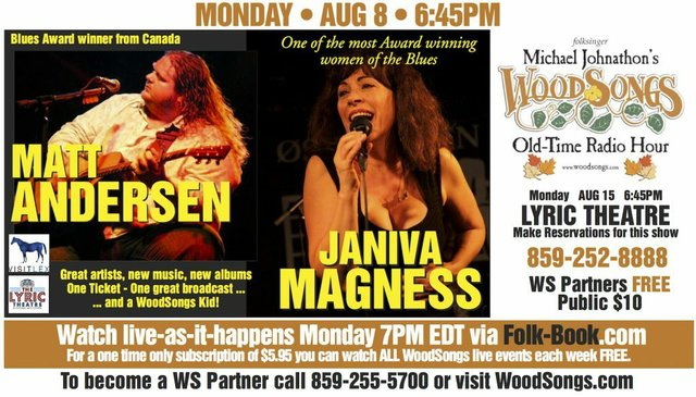 WoodSongs: Janiva Magness/ Matt Andersen