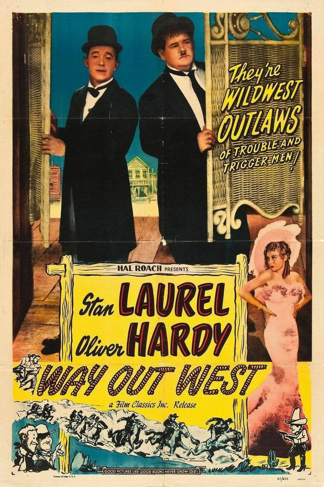 "Summer Classic Film Series:"" Way Out West"""