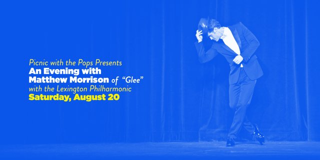 Picnic with the Pops: An Evening with Matthew Morrison
