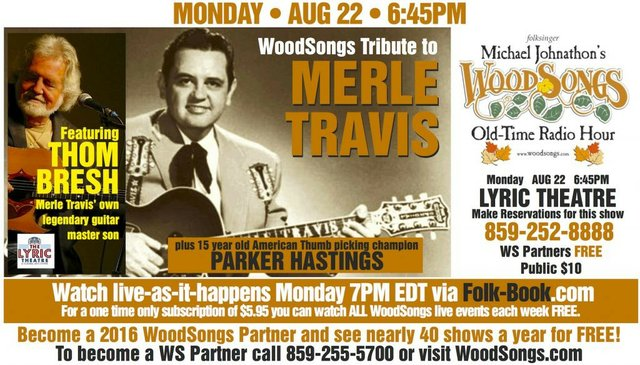 WoodSongs: Merle Travis Celebration feat. Thom Bresh