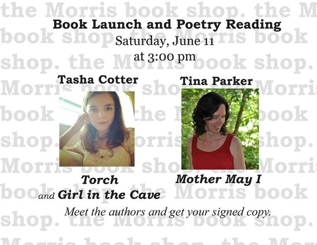 Tasha Cotter and Tina Parker read from and sign new poetry collections