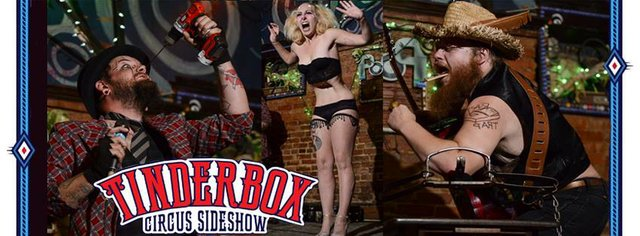 Tinderbox Circus Sideshow Tour Kickoff Show
