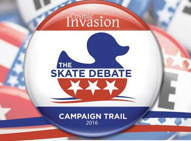 Cosmic Invasion: The Skate Debate
