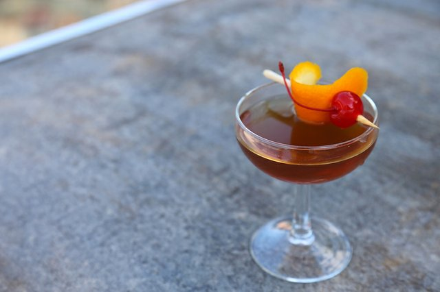 Fall Fashioned Cocktail