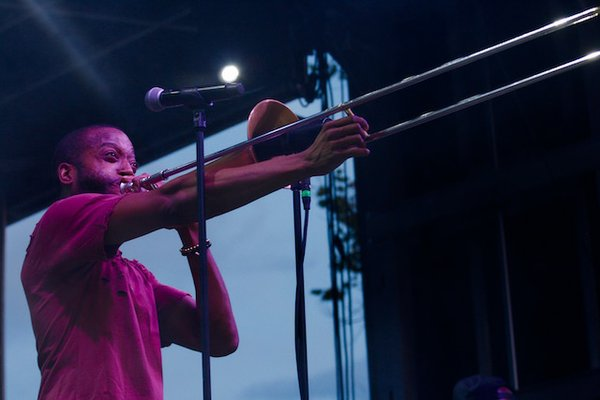 Trombone Shorty at Moontower