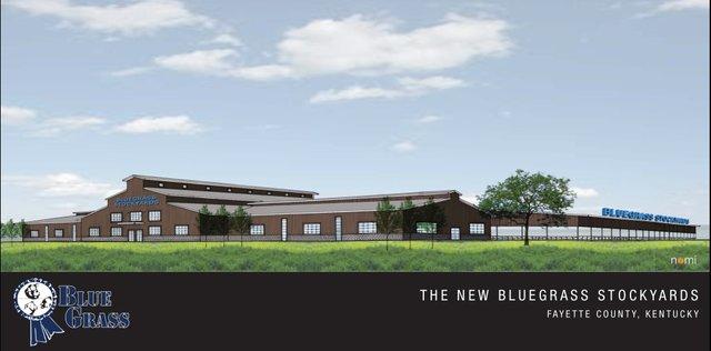 Blue Grass Stockyards rendering