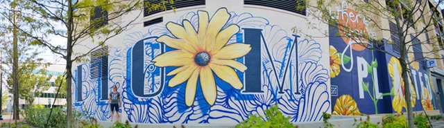 Bloom Where You're Planted mural