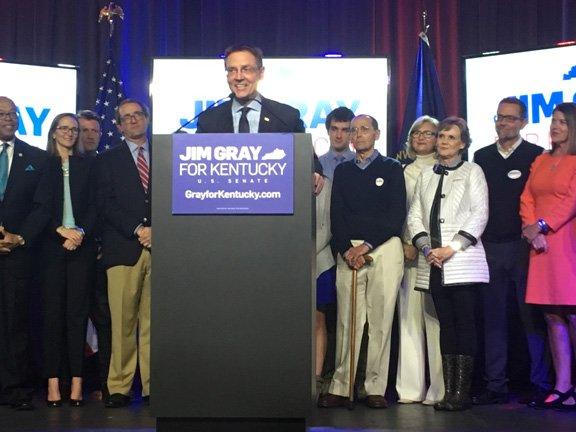 Mayor Gray concedes