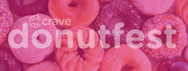 CRAVE Donut Fest Banner