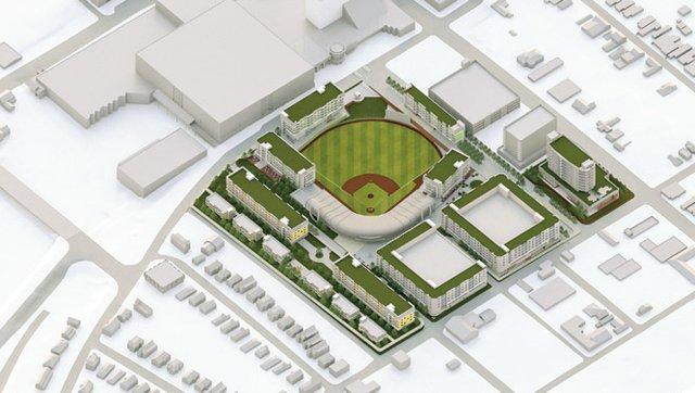 Stadium rendering 1