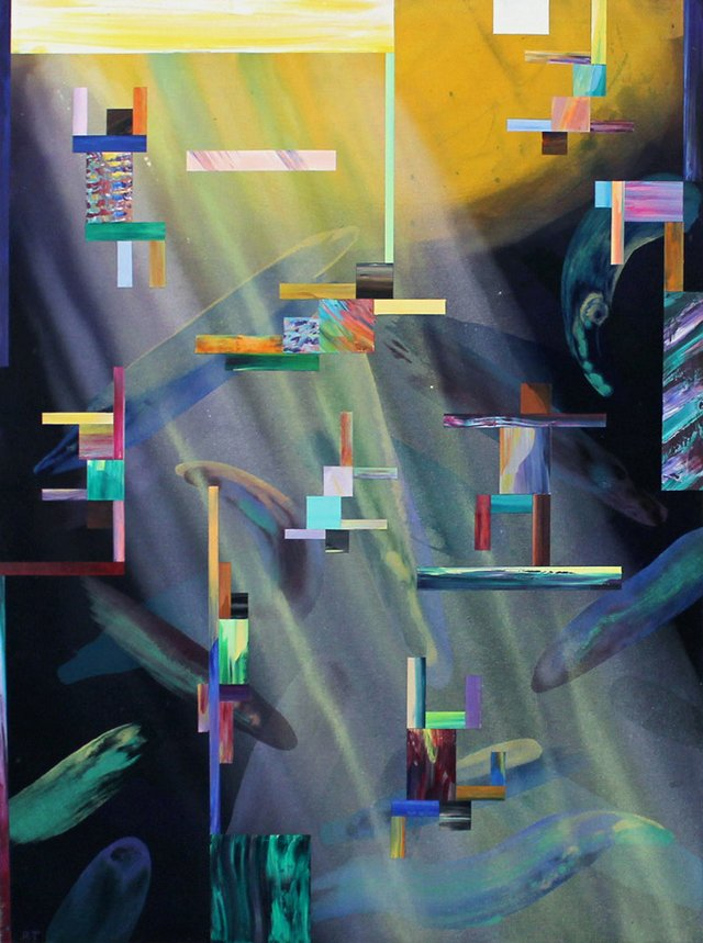 Robert Tharsing_An Artists Life_acrylic on canvas_48 x 36_1998.jpg