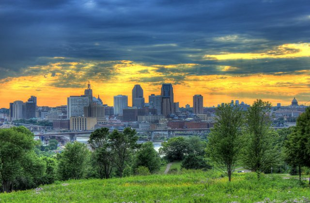 Skyline of St. Paul, Minnesota
