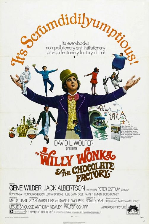 Classic Movie Night: 'Willy Wonka and The Chocolate Factory'