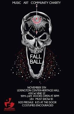 Beaux Arts Fall Ball