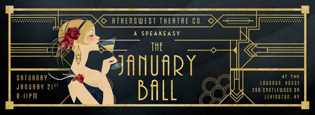 The January Ball: A Speakeasy