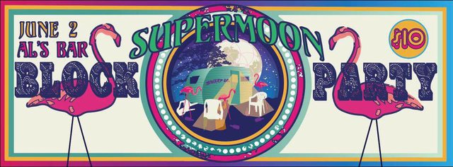 Supermoon Block Party