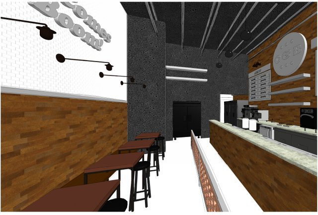 Crank and Boom - The Barn Food Hall at Fritz Farm - Rendering -