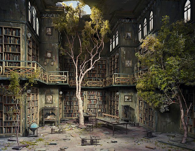 Library by Lori Nix.jpg