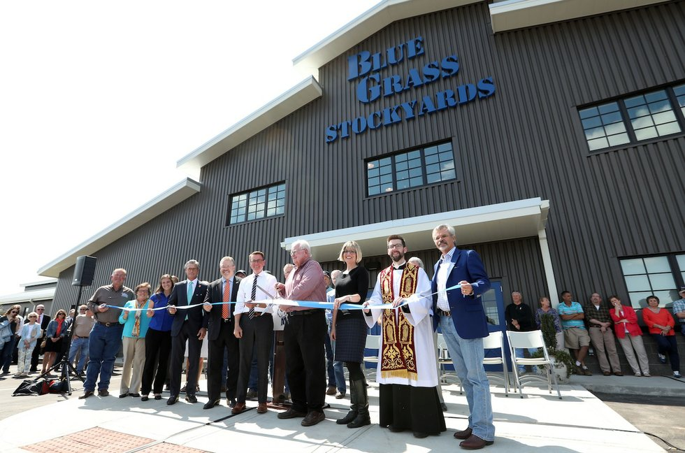 Blue Grass Stockyards Opens At New Facility Smiley Pete