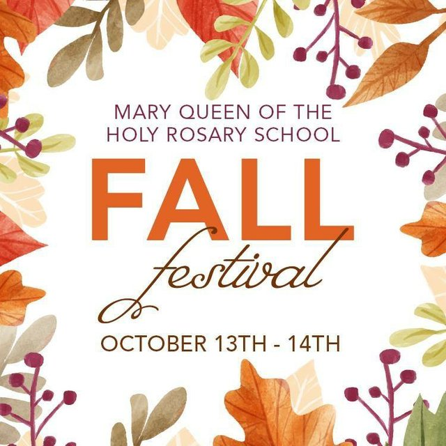 Mary Queen Fall Festival