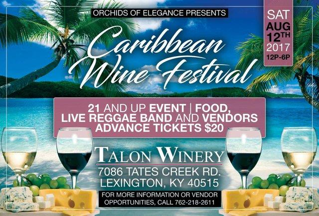 3rd Annual Caribbean Wine Festival