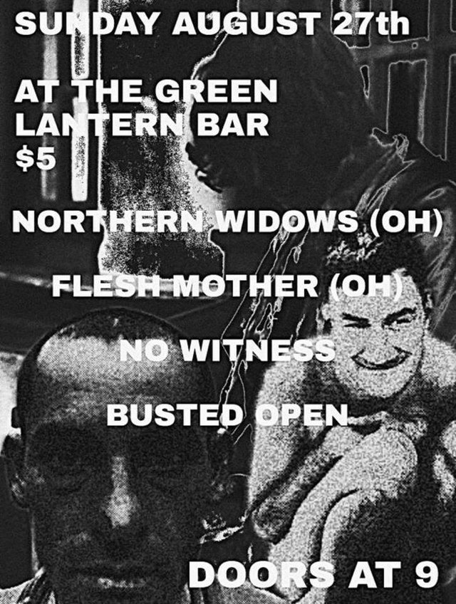 Northern Widows/ Flesh Mother/ No Witness/ Busted Open