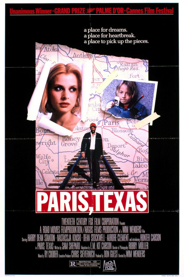 "Harry Dean Stanton Festival presents ""Paris, Texas."""
