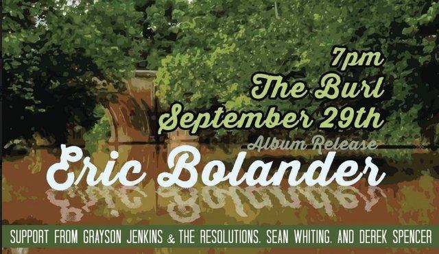 Eric Bolander Album Release Show