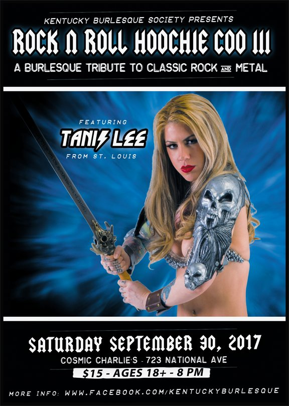 Rock and Roll Hoochie Coo III: Burlesque Tribute to Classic Rock