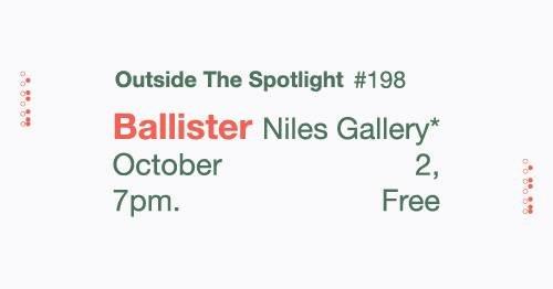 WRFL presents: Ballister