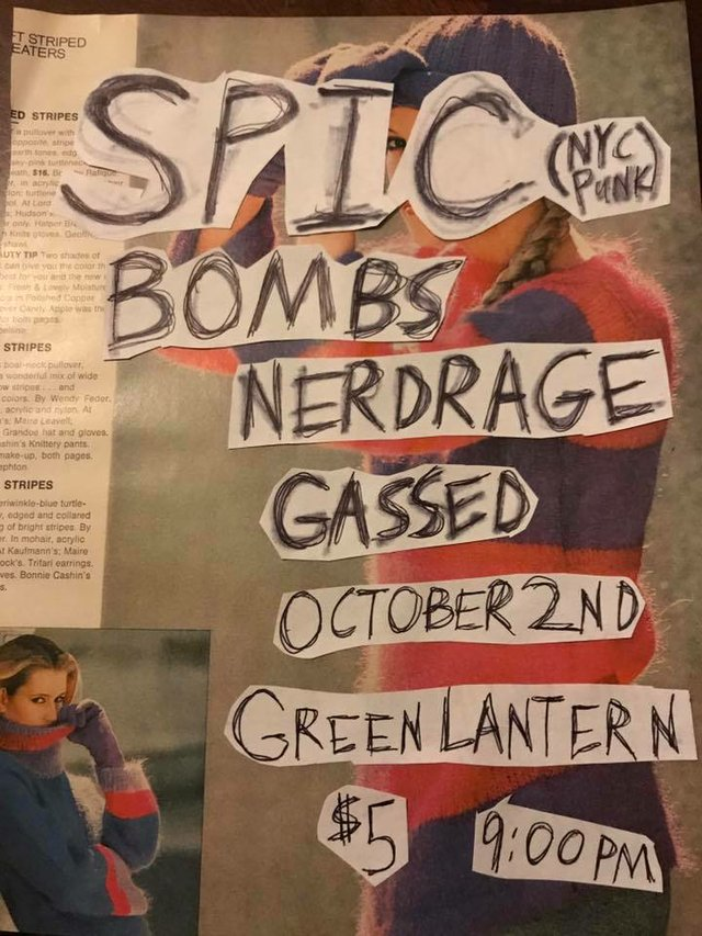 Spic/ Nerdrage/ Bombs/ Gassed