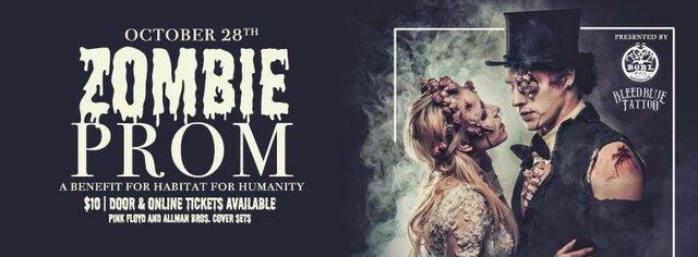 Zombie Prom Halloween Party