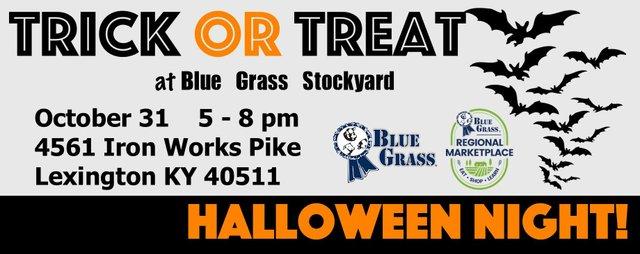 Treat or Treat at Blue Grass Stockyard