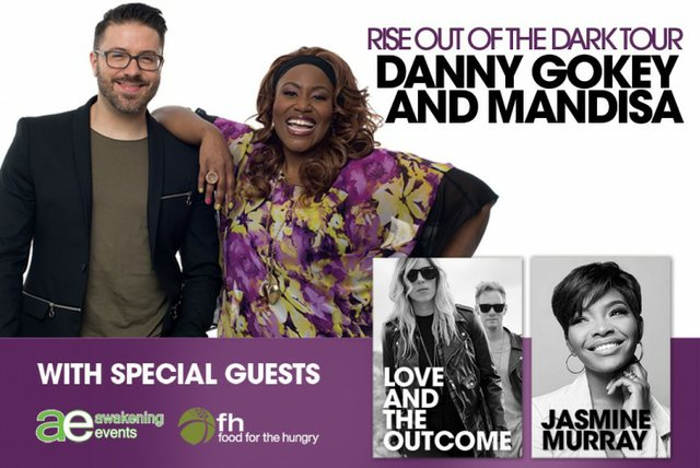 Mandisa and Danny Gokey: Rise Out of The Dark Tour