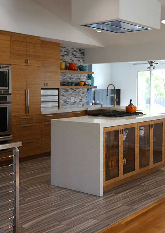 1- Mid-Century Modern Kitchen
