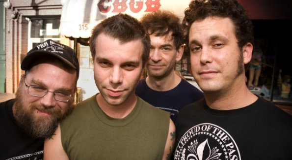 Memphis country-punk band Lucero will play Buster's on Saturday.